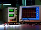 Digital oscilloscope — Stock Photo