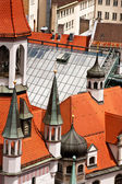 Old Town Hall in Munich, closeup — Stock Photo