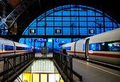 Leipzig train station — Stock Photo