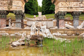 Roman ruin, Schoenbrunn Palace — Stock Photo