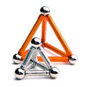 Two piramides — Stock Photo