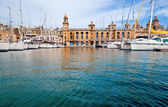 Marina in Vittoriosa, Valetta, Malta — Stock Photo