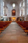 Interior of Dresden Kreuzkirche — Stock Photo