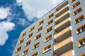 Modern appartment block — Stock Photo