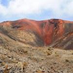 Mountains of fire,Timanfaya on Lanzarote — Stock Photo