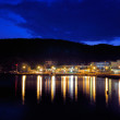 Stock Photo: Pyrgadikivillage at night