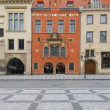Stock Photo: Entrance to City Hall, Old Prague, Czech