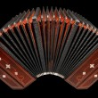 Bandoneon, argentine tango instrument — Stock Photo