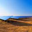 Solar panels for power production — Foto Stock