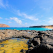 Island Graciosa, bay Las Conchas — Stock Photo