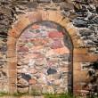 Immured arched doorway — Stock Photo