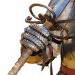 Medieval knight suit of armor — Stock Photo