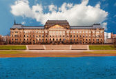 Ministry of Finance, Dresden — Stock Photo