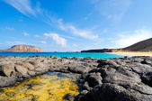 Bay Las Conchas, Graciosa, Canary islands, Spain — Stock Photo