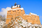 Kriebstein castle in winter, Saxony, Germany — Stock Photo