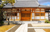 Local Japanese temple — Stock Photo