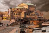 Dresden Opera House — Stock Photo