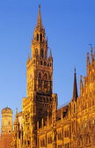 New Town Hall in Marienplatz, Munich, Germany — Stock Photo
