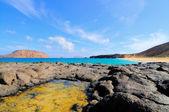 Island Graciosa, bay Las Conchas — Stock Photo
