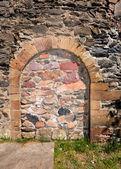 Immured arched doorway — Stock Photo