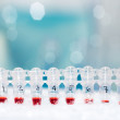 Stock Photo: DNsamples for PCR amplification
