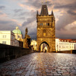 Charles Bridge in Prague — Foto Stock