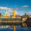 Central Berlin under construction — Stock Photo