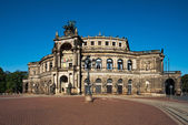 Opera house in Dresden — Stock Photo