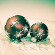 Xmas decorations with retro effect — Stock Photo #36315459