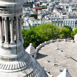 Aerial view of Paris from Sacre Coeur — Stock Photo