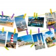 Travel pictures from Portugal, collage — Stock Photo