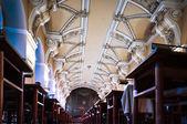 Barocue escalier de bibliothèque en bibliothèque nationale clementinum — Photo
