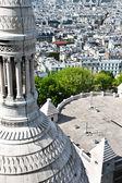 Aerial view of Paris from Sacre Coeur — Stockfoto