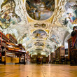 Stock Photo: Strahov Monastery library interior