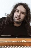 Portrait of a pianist — Stock Photo