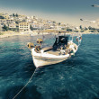 Stock Photo: Fishermen boat in Chalkidiki