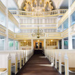 Stock Photo: Bach Church in Arnstadt, interior