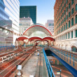 Stock Photo: Canary Wharf station in London
