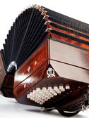 Bandoneon, tango instrument — Stock Photo