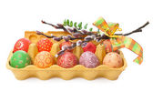 Crate of Easter Eggs — Foto Stock