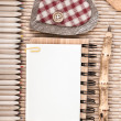 Stock Photo: Sustainable wood stationary