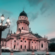 German Cathedral on Gendarmenmarkt — Stock Photo