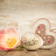 Easter decorations, retro look — Stock Photo #42364329