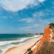 Albufeira coast, Algarve, Portugal in spring — Stock Photo