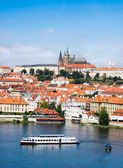 Aerial view of Old Prague  — Stock Photo
