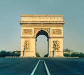 Arc de Triumph in Paris, France  — Stock Photo