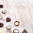 Chocolate pralines — Stock Photo #45495843