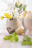 Ostern dekorationen — Stockfoto