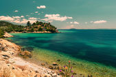 Coast in Sithonia — Stock Photo