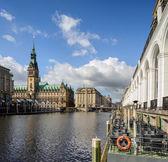 Hamburské radnice — Stock fotografie
